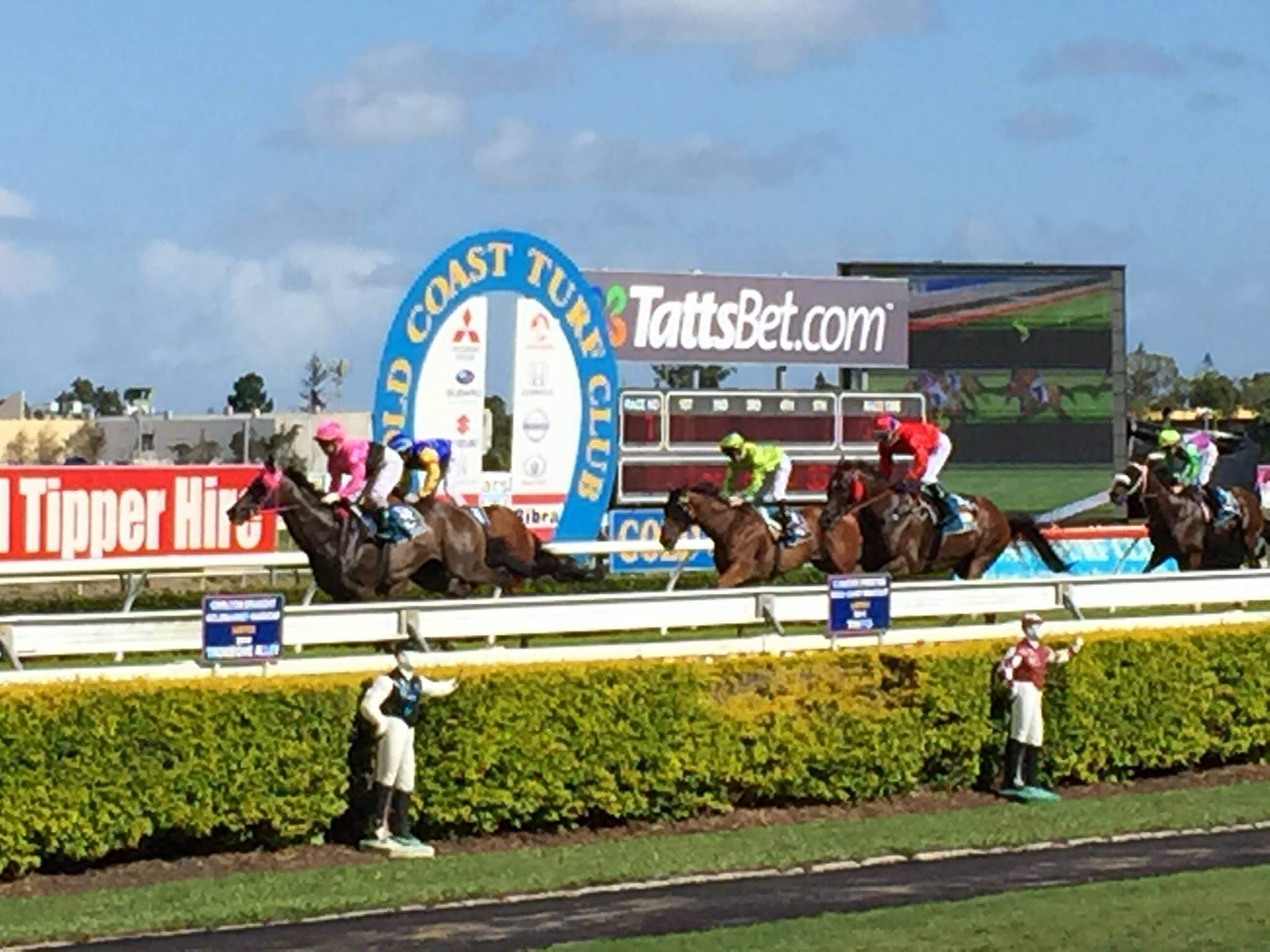 Gold Coast Turf Club's prestigious Prime Minister's Cup Day
